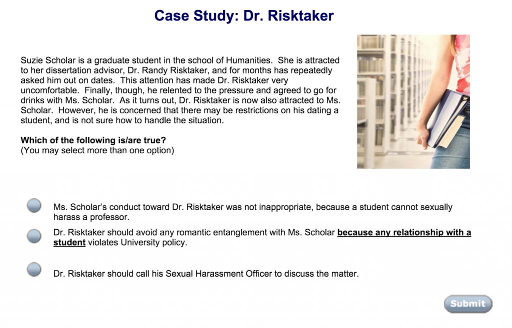 Dr. Risktaker